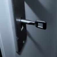 En låsekasse sikrer sikkerheden