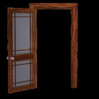 Franske døre er æstetik og funktion
